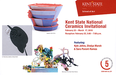 Kent State National Ceramics Invitational Card